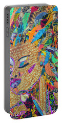 Warrior Woman Portable Battery Charger