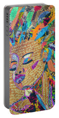 Warrior Woman Portable Battery Charger by Apanaki Temitayo M