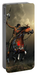 Warriors Of The Plains Portable Battery Charger