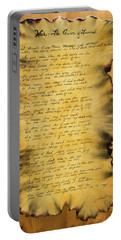 War's Poem Portable Battery Charger