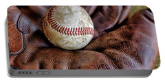 Wartime Baseball Portable Battery Charger