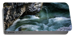 Portable Battery Charger featuring the photograph Wash Away Your Worries - Nature Art by Jordan Blackstone