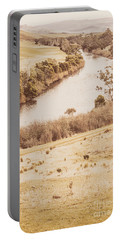 Washes Of Rustic Country Portable Battery Charger