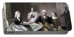 Washington And His Family Portable Battery Charger