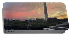Washington And Steps Portable Battery Charger