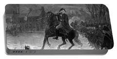 Washington At The Battle Of Trenton Portable Battery Charger