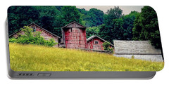 Portable Battery Charger featuring the photograph Washington County Vignette by Kendall McKernon