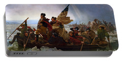 Washington Crossing The Delaware River Portable Battery Charger