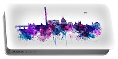 Washington Dc Skyline Portable Battery Charger by Marian Voicu