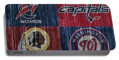 Washington Dc Sports Teams Portable Battery Charger