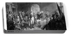 Washington Meeting His Generals Portable Battery Charger