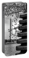 Washington Monument By Japanese Memorial Gift To Usa Portable Battery Charger
