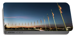 Washington Monument Flags Portable Battery Charger