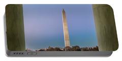 Washington Monument  Portable Battery Charger