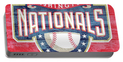 Washington Nationals Barn Door Portable Battery Charger