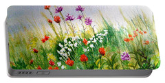 Washington Wildflowers Portable Battery Charger