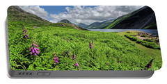 Wastwater Foxgloves Portable Battery Charger