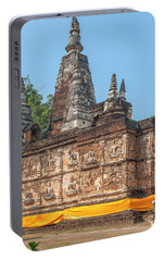 Portable Battery Charger featuring the photograph Wat Jed Yod Maha Vihara Jedyod Dthcm0902 by Gerry Gantt