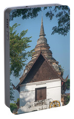 Portable Battery Charger featuring the photograph Wat Jed Yod Phra Ubosot Dthcm0967 by Gerry Gantt