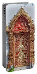 Wat Jed Yod Phra Wihan Rear Door Dthcm0916 Portable Battery Charger