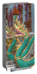 Wat Nam Phueng Phra Wihan Naga Guardians Dthla0007 Portable Battery Charger