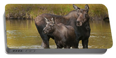 Watchful Moose Portable Battery Charger by Gary Lengyel