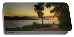 Watching Sunset Portable Battery Charger