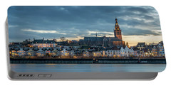 Watching The City Lights, Nijmegen Portable Battery Charger