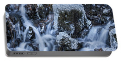 Portable Battery Charger featuring the photograph Water And Ice by Hans Franchesco