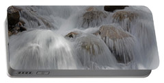 Water And Stone- Dance Of The Elements Portable Battery Charger