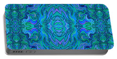 Water Art Pattern  Portable Battery Charger