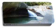 Portable Battery Charger featuring the photograph Water-carved Rock by Kerri Mortenson