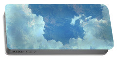 Portable Battery Charger featuring the photograph Water Clouds by Robin Regan