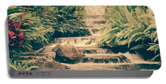 Portable Battery Charger featuring the photograph Water Creek by Sheila Mcdonald