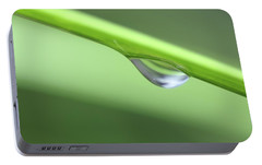 Portable Battery Charger featuring the photograph Water Droplet II by Richard Rizzo