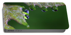 Portable Battery Charger featuring the photograph Water Droplet IIi by Richard Rizzo