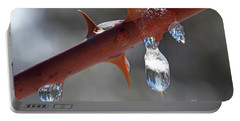 Water Droplets Portable Battery Charger