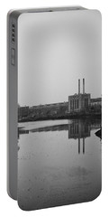 Portable Battery Charger featuring the photograph Water Factory by Lora Lee Chapman