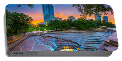 Water Gardens Sunset Portable Battery Charger