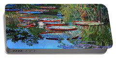 Water Lilies For Amelia Portable Battery Charger