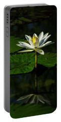Portable Battery Charger featuring the photograph Water Lily 1 by Buddy Scott
