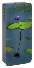 Portable Battery Charger featuring the photograph Water Lily 2 by Buddy Scott