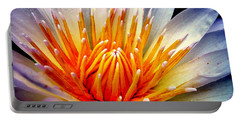 Water Lily Flower Portable Battery Charger
