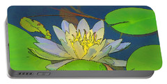 Water Lily Portable Battery Charger by Maciek Froncisz