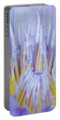 Water Lily Nature Fingers Portable Battery Charger