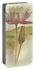 Water Lily  Nymphaea Zanzibarensis Portable Battery Charger