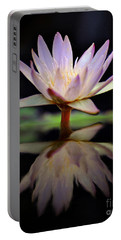 Portable Battery Charger featuring the photograph Water Lily by Savannah Gibbs