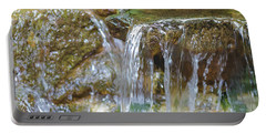 Water On The Rocks Portable Battery Charger