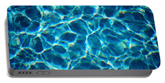Water Patterns Portable Battery Charger