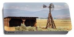 Water Pumping Windmill Portable Battery Charger